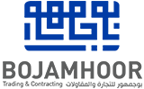 Image result for Bojamhoor trading & construction Co WLL: logo